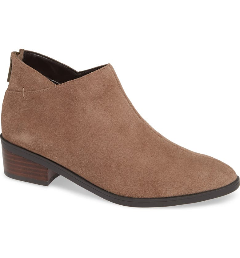 BELLA VITA Haven Ankle Bootie, Main, color, ALMOND SUEDE