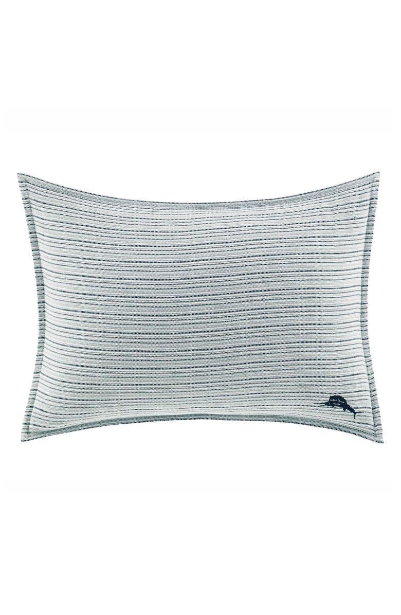 TOMMY BAHAMA Raw Coast Pillow, Main, color, BLUE