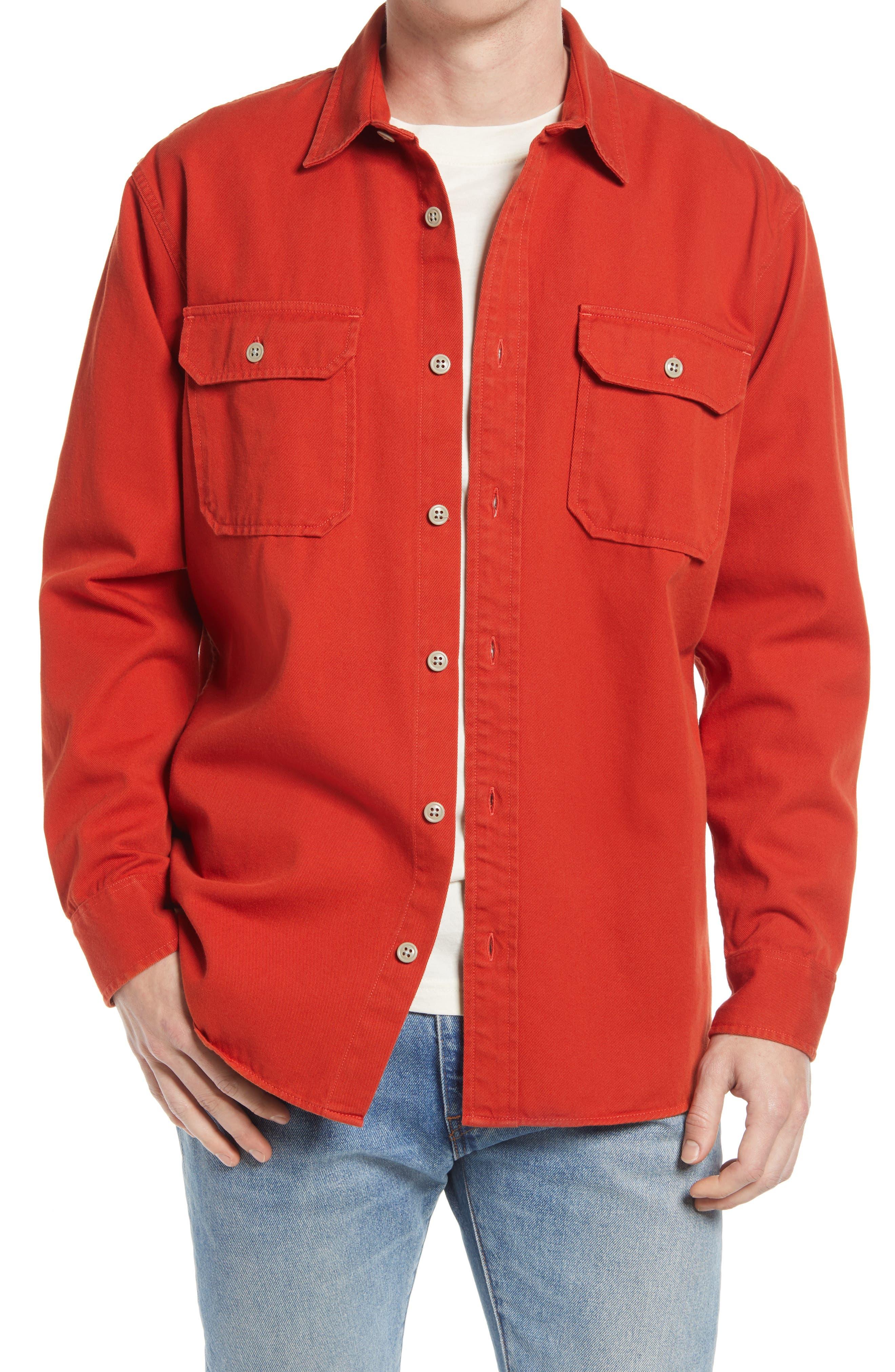 Twill Button-Up Shirt