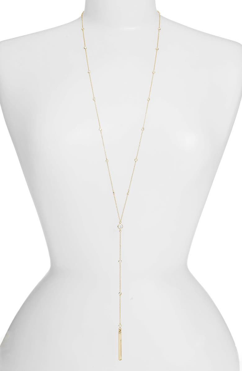 LISA FREEDE By the Yard Y-Necklace, Main, color, 710