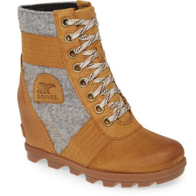 Sorel Lexie Wedge Boot, Brown