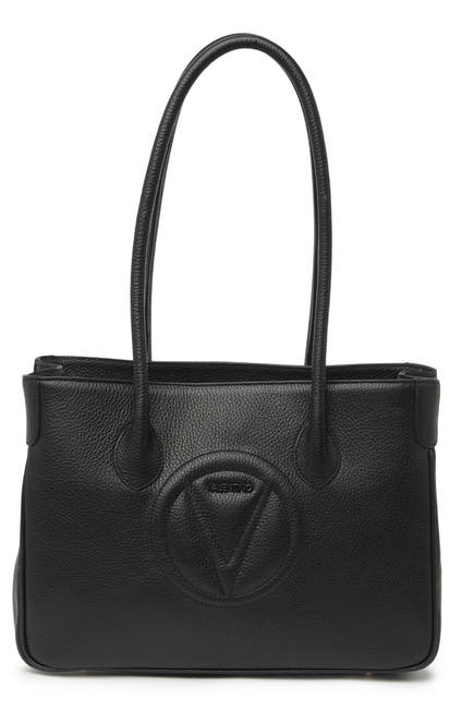Image of Valentino By Mario Valentino Dorianne Dollaro Leather Tote Bag