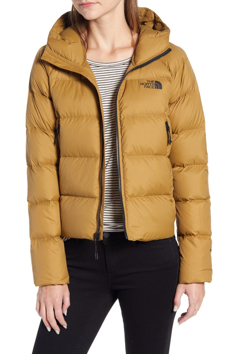 THE NORTH FACE Hyalite 550 Fill Power Down Jacket, Main, color, BRITISH KHAKI