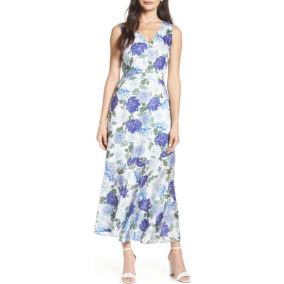 Sam Edelman Vintage Floral Midi Dress, Purple