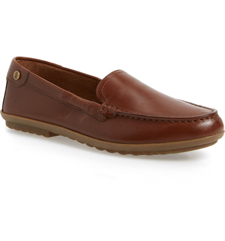 HUSH PUPPIES<SUP>®</SUP> Aidi Moc Toe Slip-On, Main, color, DACHSHUND LEATHER