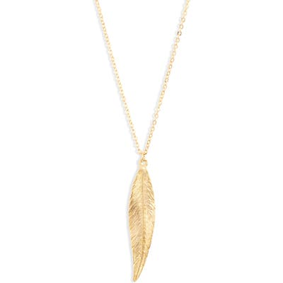 Lux Divine Leaf Pendant Necklace