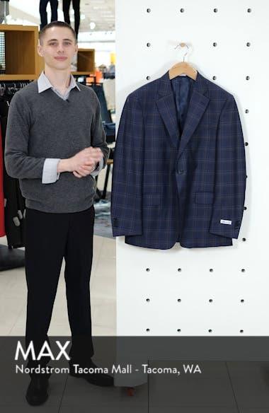 Flynn Classic Plaid Wool Sport Coat, sales video thumbnail