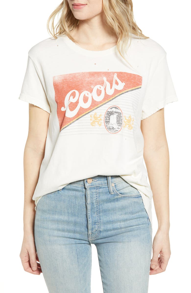 JUNK FOOD Coors Cotton Tee, Main, color, 250