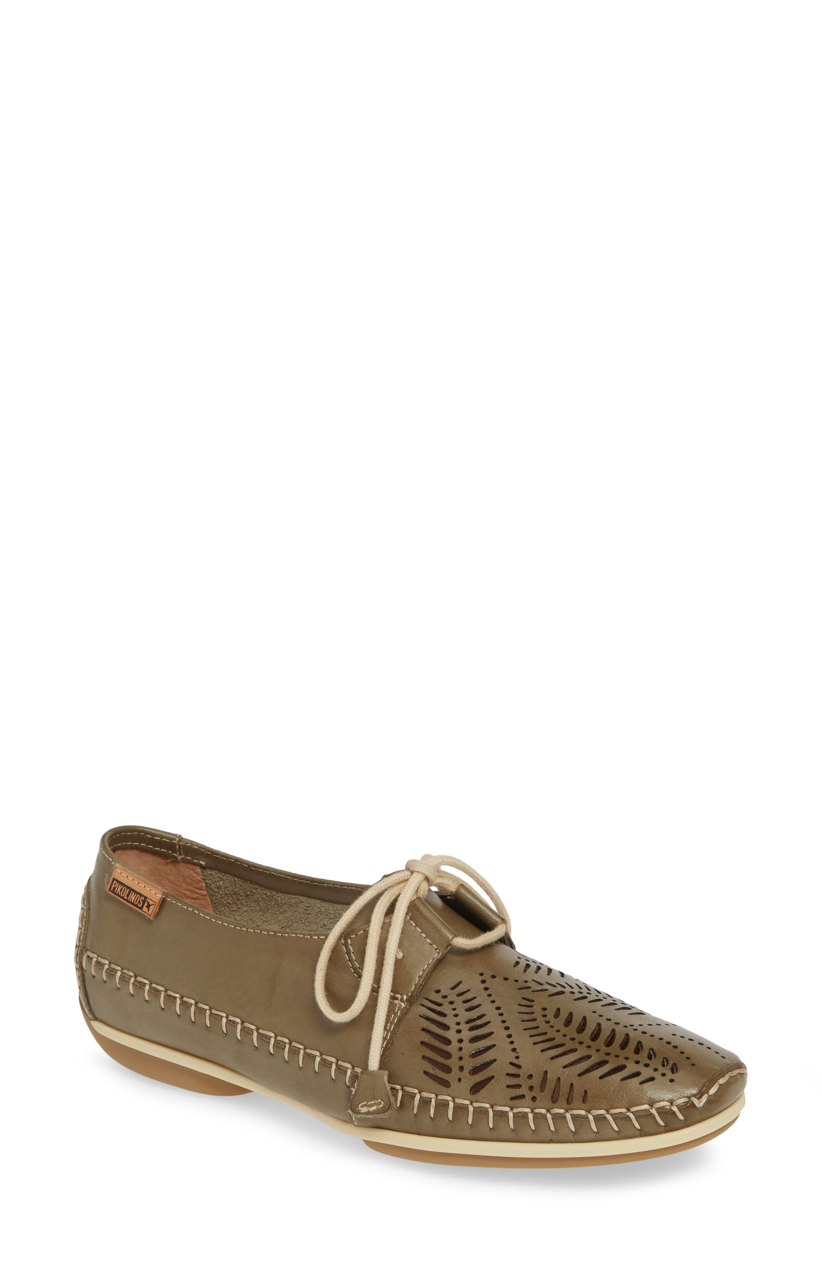 Pikolinos Roma Perforated Lace-Up, Grey