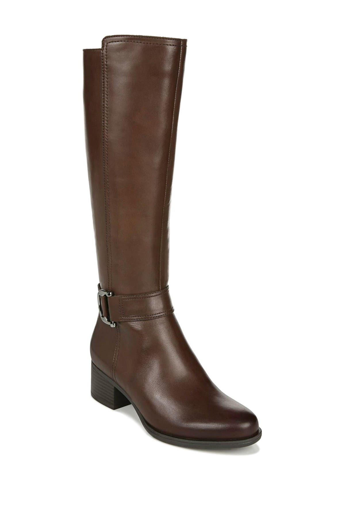 Naturalizer   Kelso Leather Boot - Wide