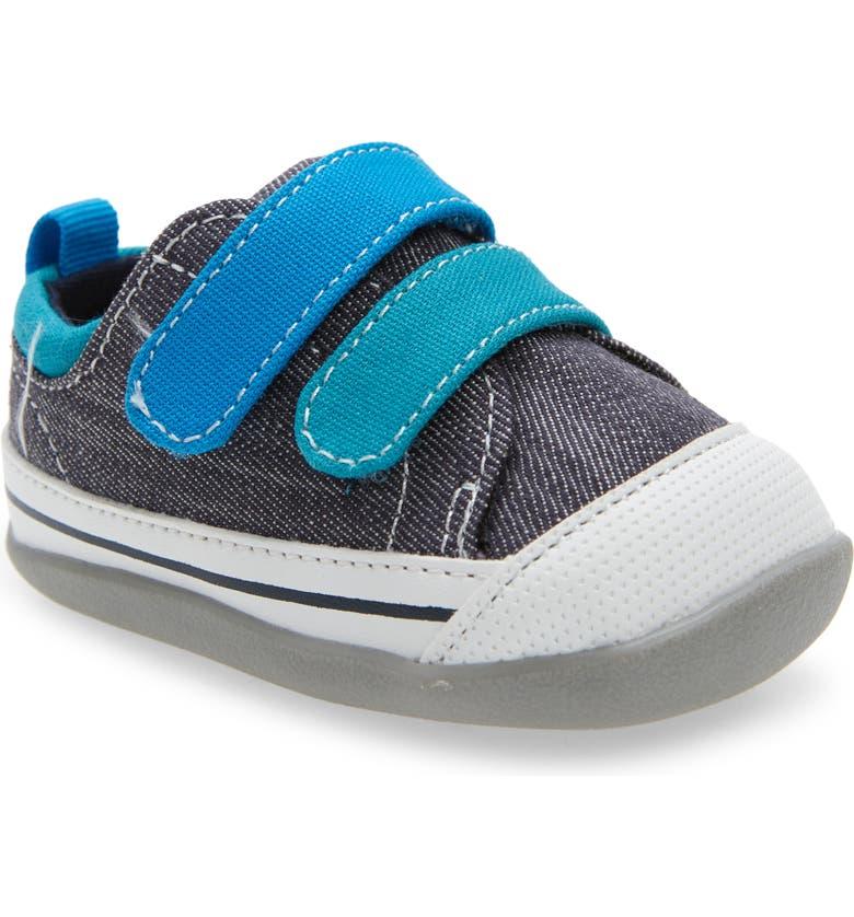 SEE KAI RUN Waylon Sneaker, Main, color, GRAY DENIM