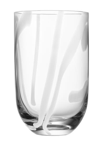 Image of Kosta Boda Handmade Contrast Tumbler - White