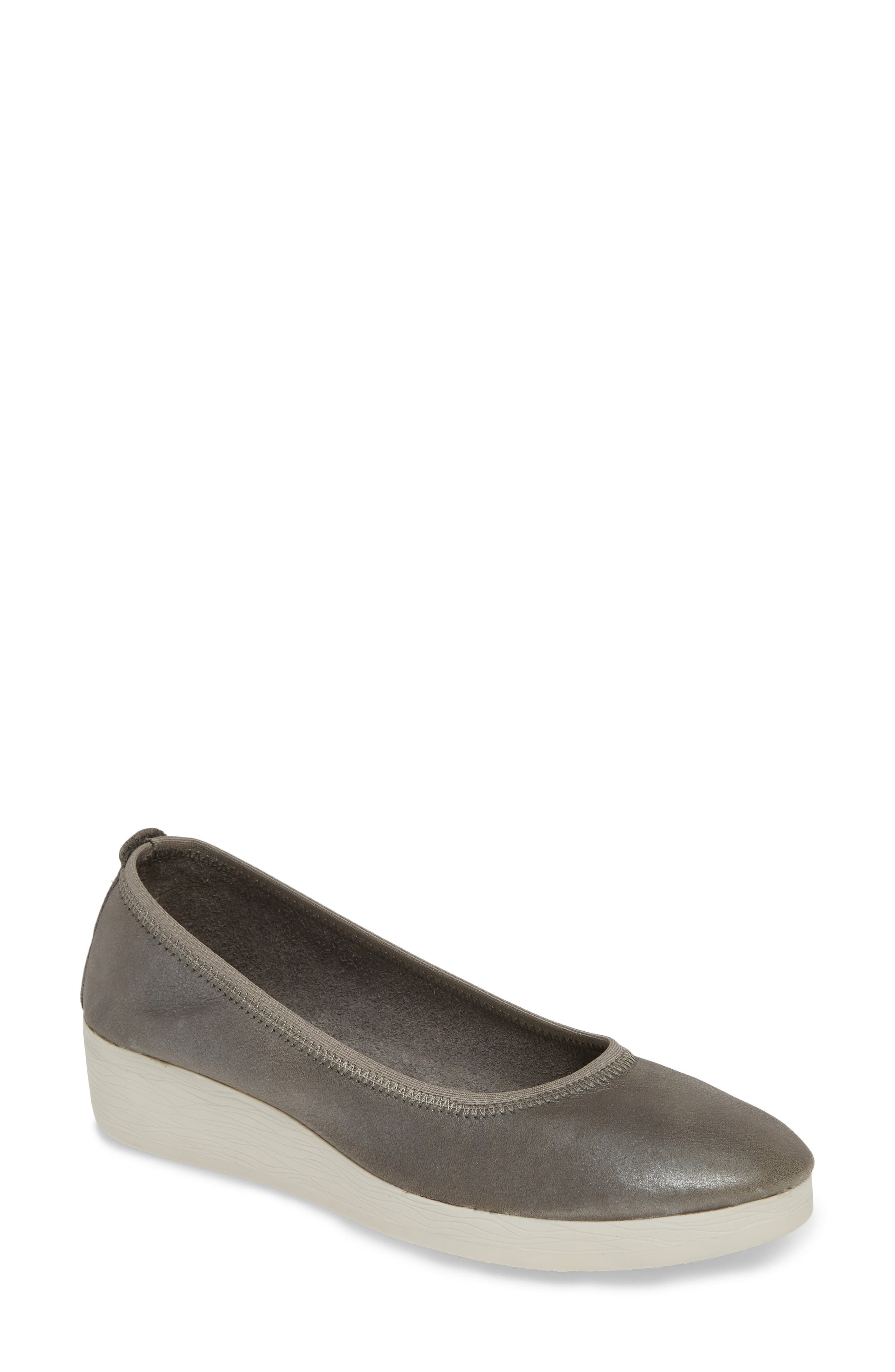 Softinos By Fly London Avo Flat - Grey