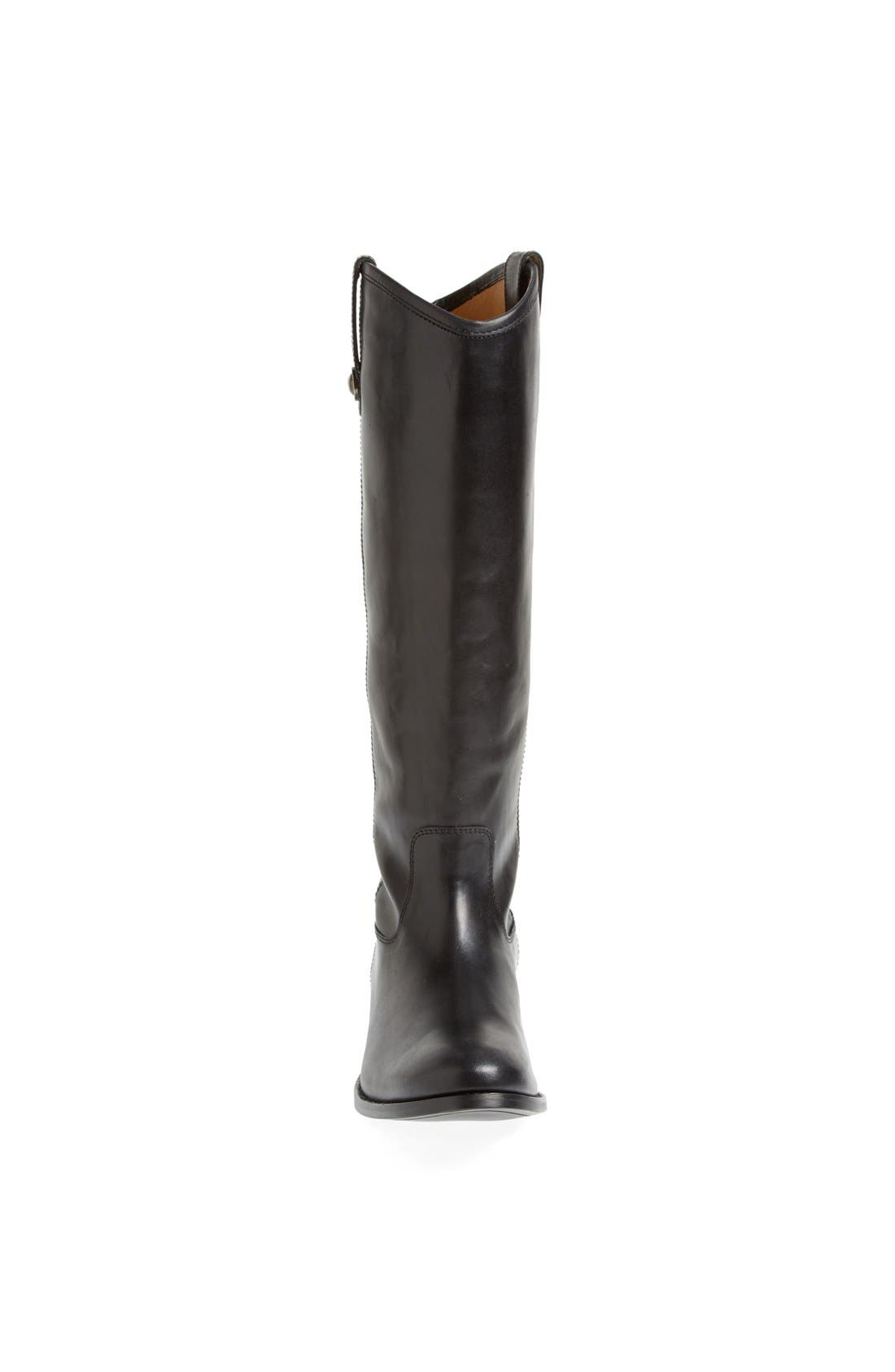 ,                             'Melissa Button' Leather Riding Boot,                             Alternate thumbnail 15, color,                             001