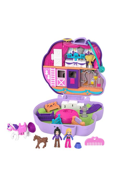 Image of Mattel Polly Pocket(TM) Jumpin' Style(TM) Pony Compact
