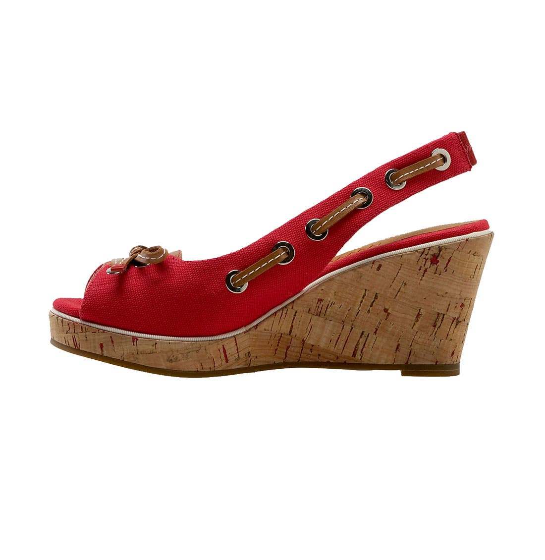 ,                             Top-Sider<sup>®</sup> 'Southport' Slingback Wedge,                             Alternate thumbnail 13, color,                             600