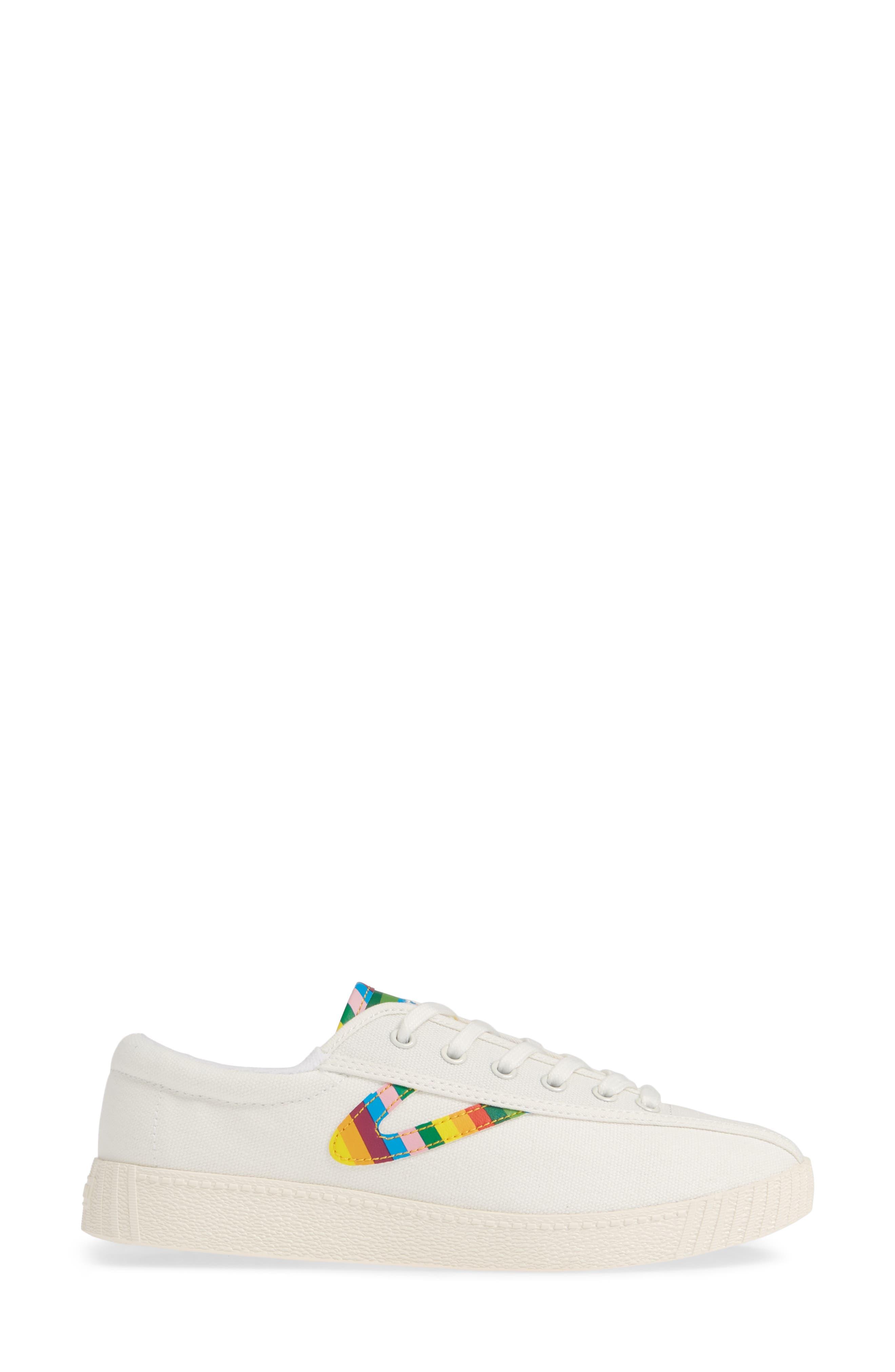 ,                             Nylite 28 Plus Sneaker,                             Alternate thumbnail 3, color,                             VINTAGE WHITE/ CLASSIC MULTI