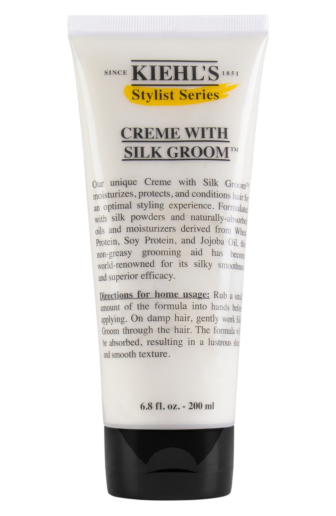 What it is: A nongreasy grooming aid for lustrous hair shine and a smooth texture. What it does: It\\\'s formulated with silk powders along with naturally absorbed oils and moisturizers derived from wheat protein, soy protein and jojoba oil for a formula that\\\'s world-renowned for its silky smoothness and superior efficacy. How to use: Begin by shampooing your hair, then rub a small amount of the styling creme into your hands before applying. Work
