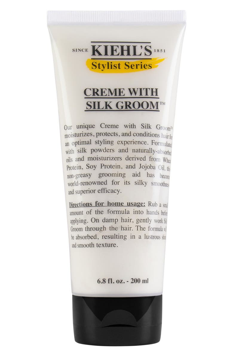 KIEHL'S SINCE 1851 Creme with Silk Groom<sup>™</sup> Styling Creme for Hair, Main, color, NO COLOR
