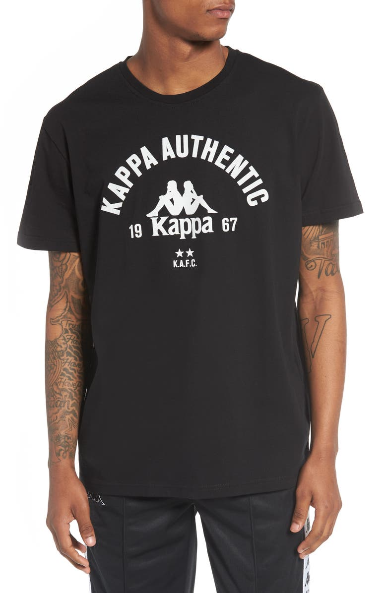 KAPPA Authentic Graphic T-Shirt, Main, color, 001