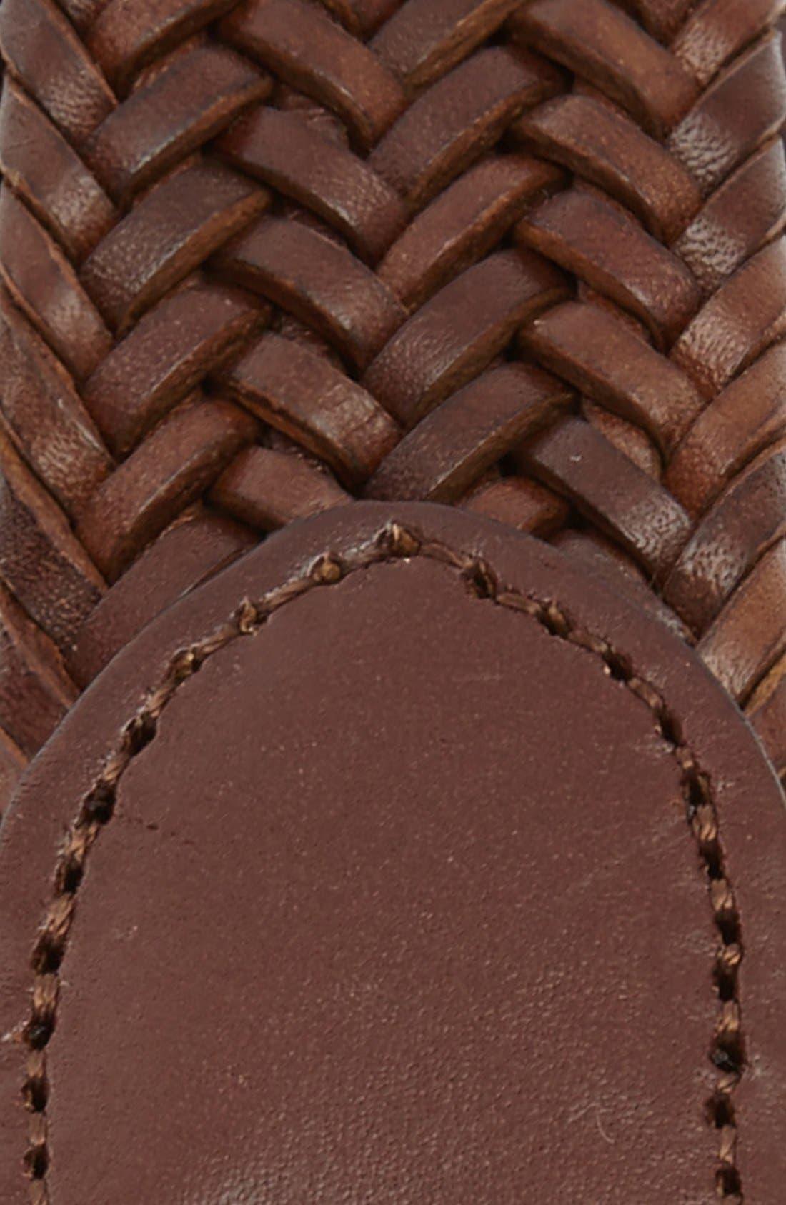 ,                             Leather Belt,                             Alternate thumbnail 2, color,                             201