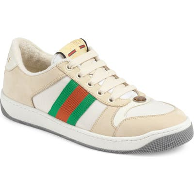 Gucci Screener Low Top Sneaker - Beige