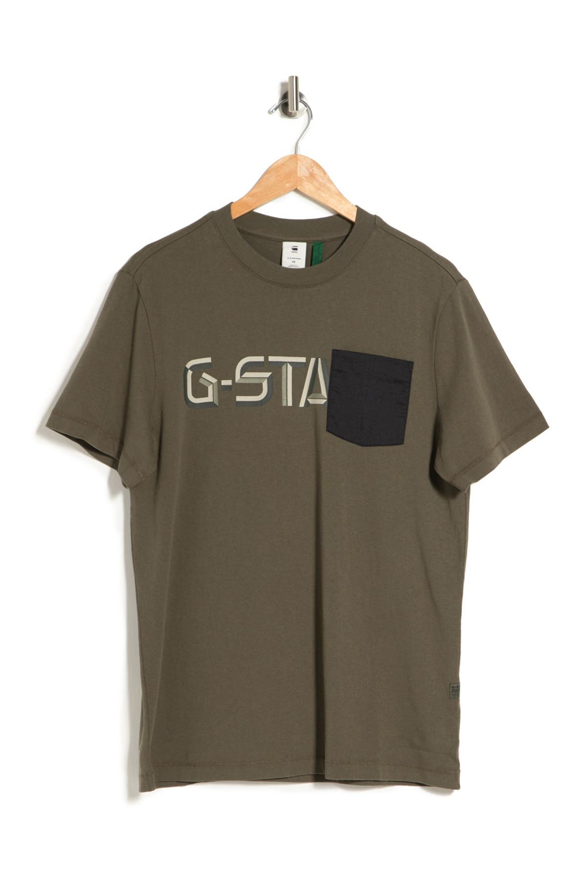 G-Star Raw T-shirts RIPSTOP GRAPHIC CREW NECK T-SHIRT