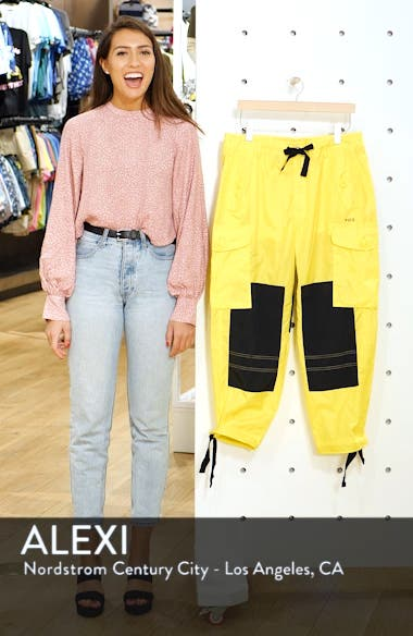 Colorblock Cargo Pants, sales video thumbnail