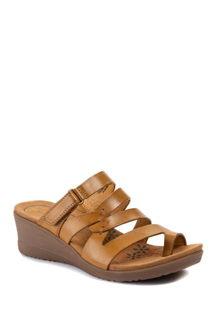 Image of BareTraps Theanna Wedge Slide Sandal