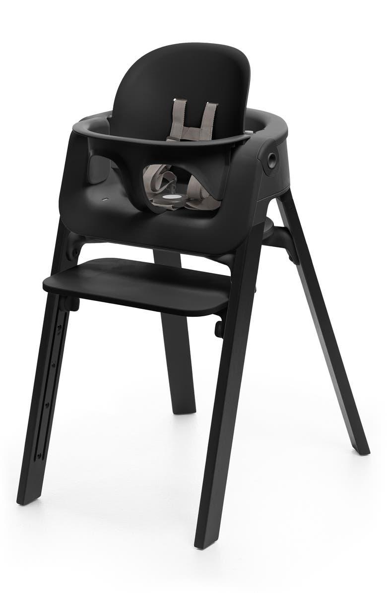STOKKE Steps<sup>™</sup> Highchair, Main, color, OAK BLACK/ BLACK