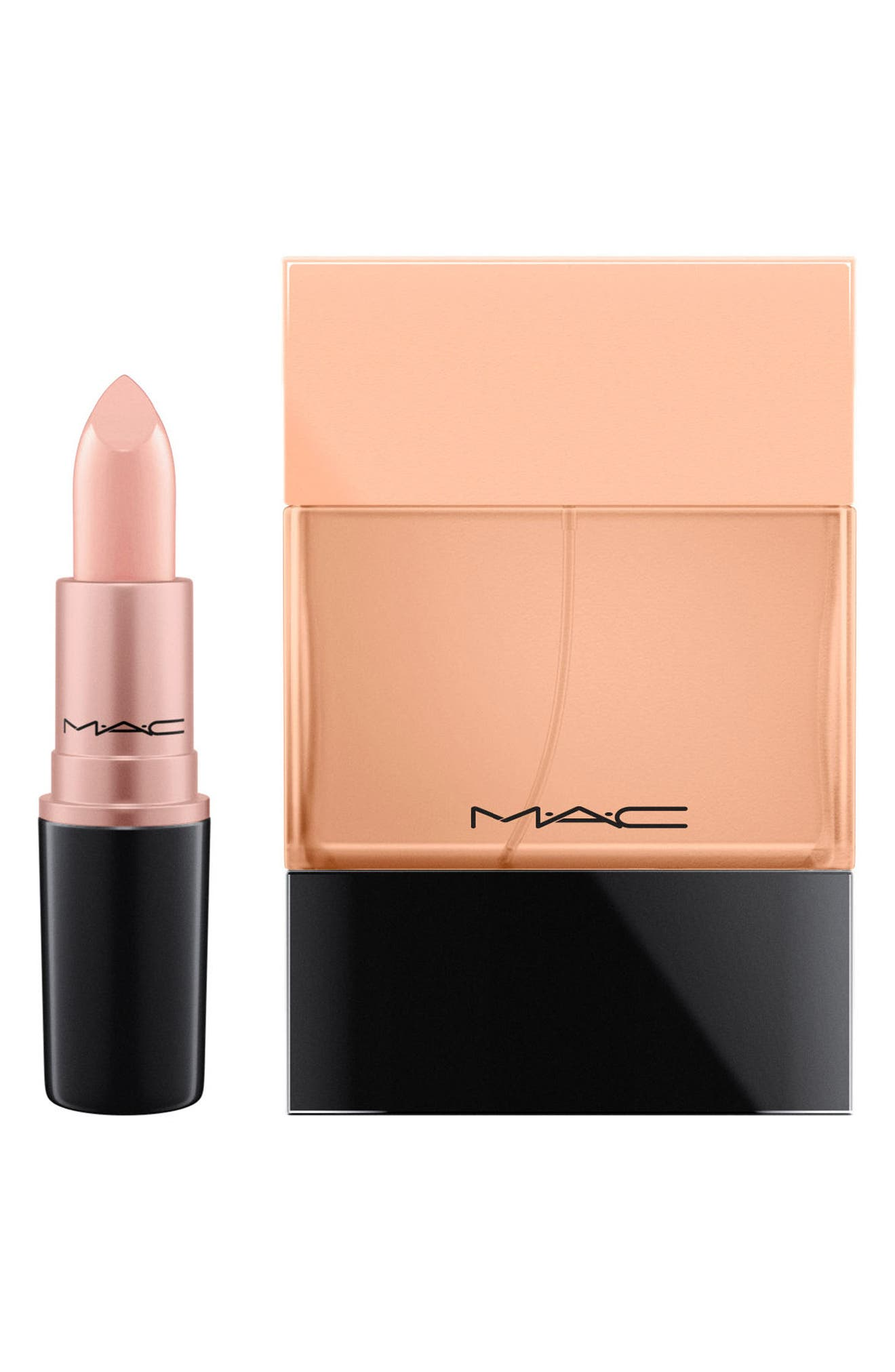 ,                             MAC Crème d'Nude Shadescent Lipstick,                             Alternate thumbnail 3, color,                             250