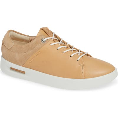 Ecco Corksphere Waterproof Sneaker, Beige