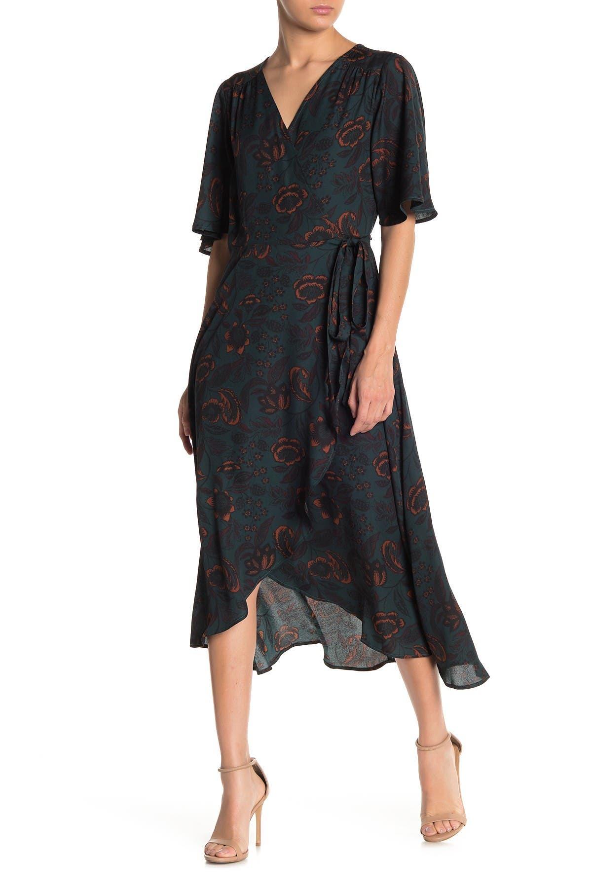 Image of Bobeau Orna Wrap Dress