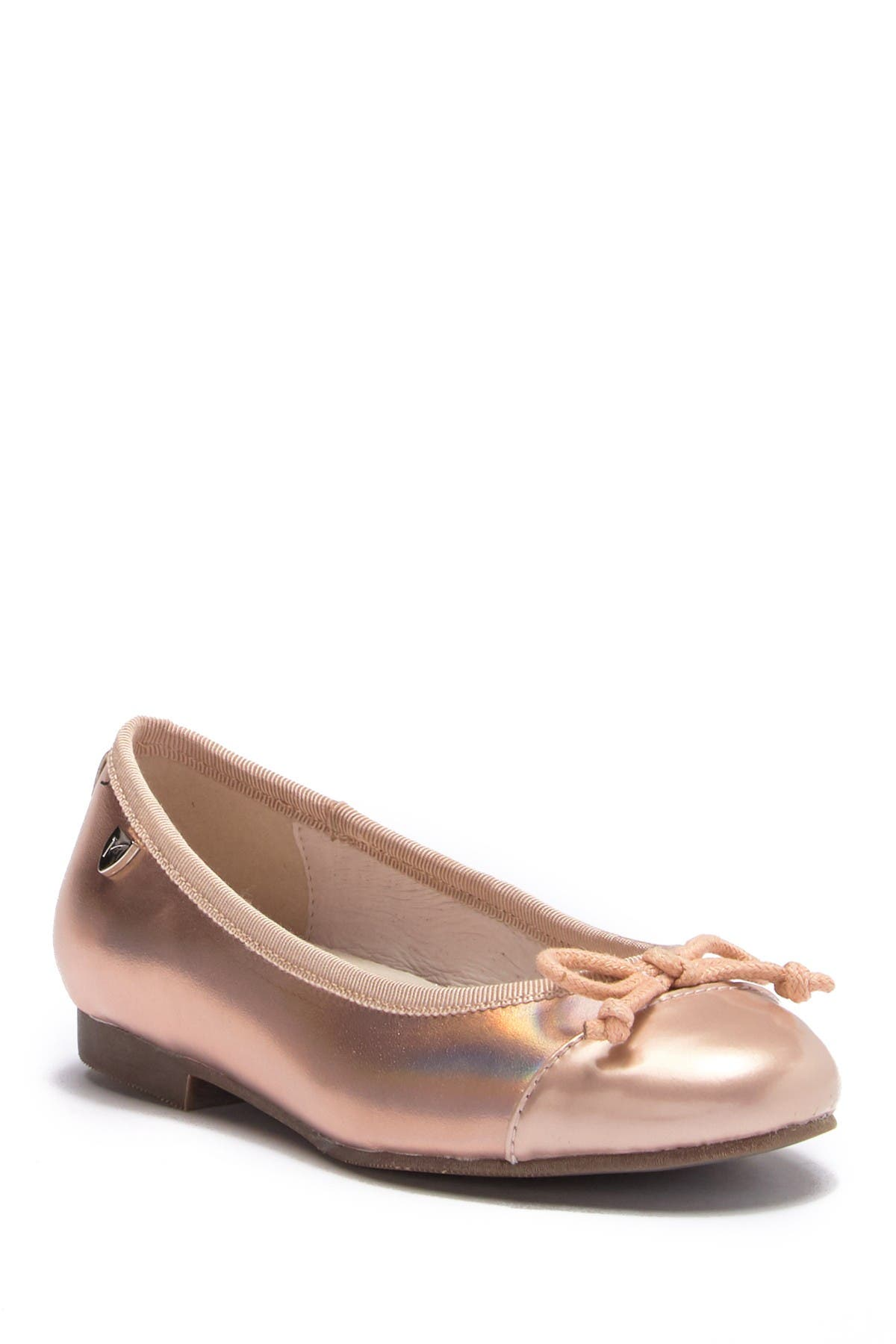 Image of Venettini Libby Patent Toe Flat