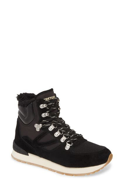 Image of Tretorn Lily 3 Faux Shearling Lined Hiker Boot