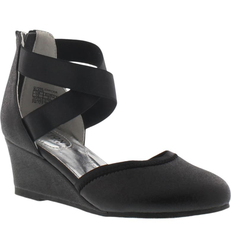 REACTION KENNETH COLE Diane Dancer Wedge, Main, color, BLACK