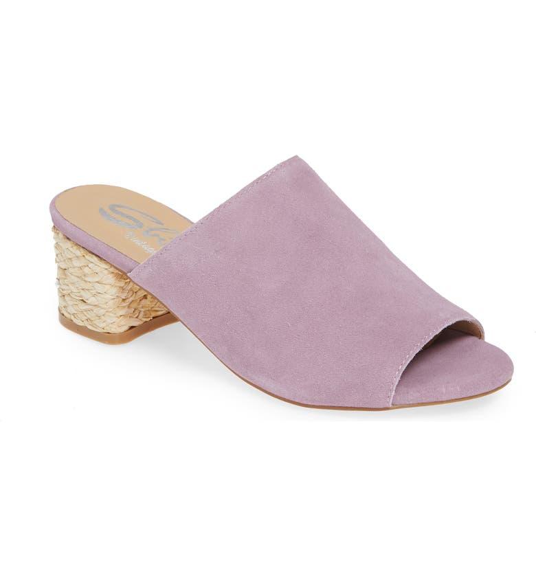 SBICCA Sunderland Slide Sandal, Main, color, LILAC