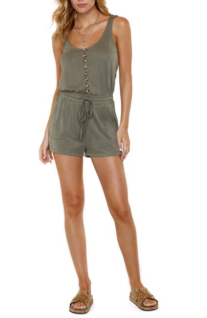 Image of Heartloom Josie Button Front Romper