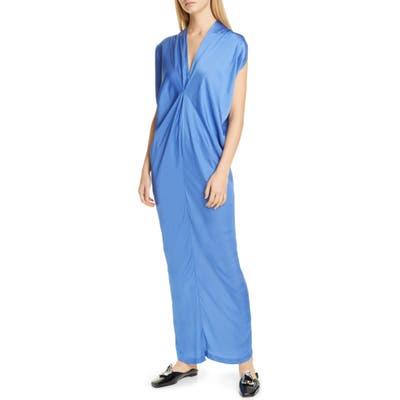 Zero + Maria Cornejo Issa Maxi Dress, Blue