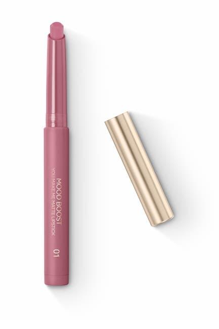 Image of Kiko Milano Mood Boost You Make Me Matte Lipstick - 01 Love Mauve