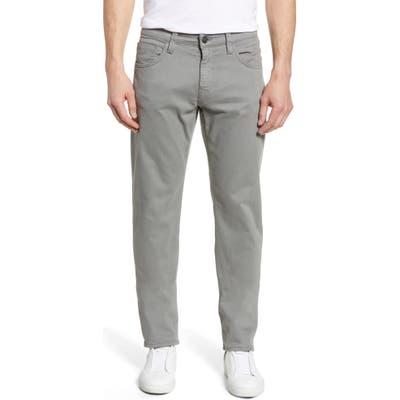Mavi Jeans Zach Straight Leg Twill Pants, Grey