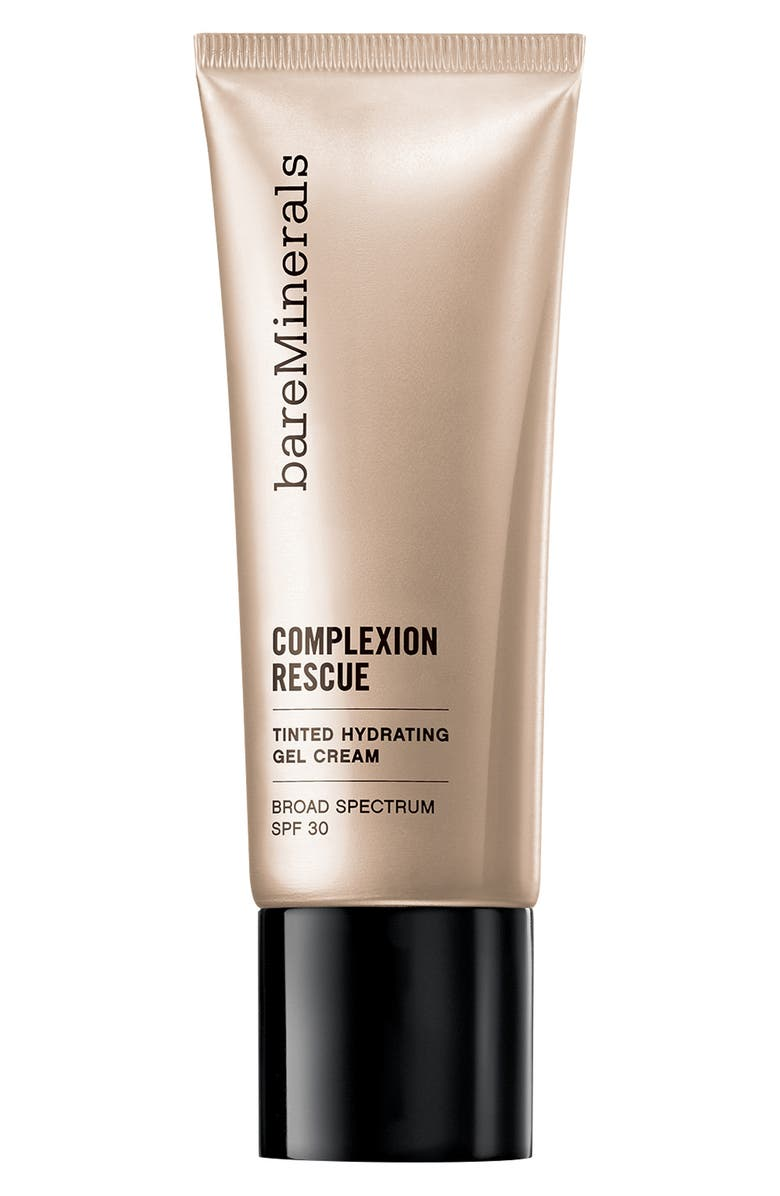 BAREMINERALS<SUP>®</SUP> COMPLEXION RESCUE<sup>™</sup> Tinted Moisturizer Hydrating Gel Cream SPF 30, Main, color, 06.5 DESERT