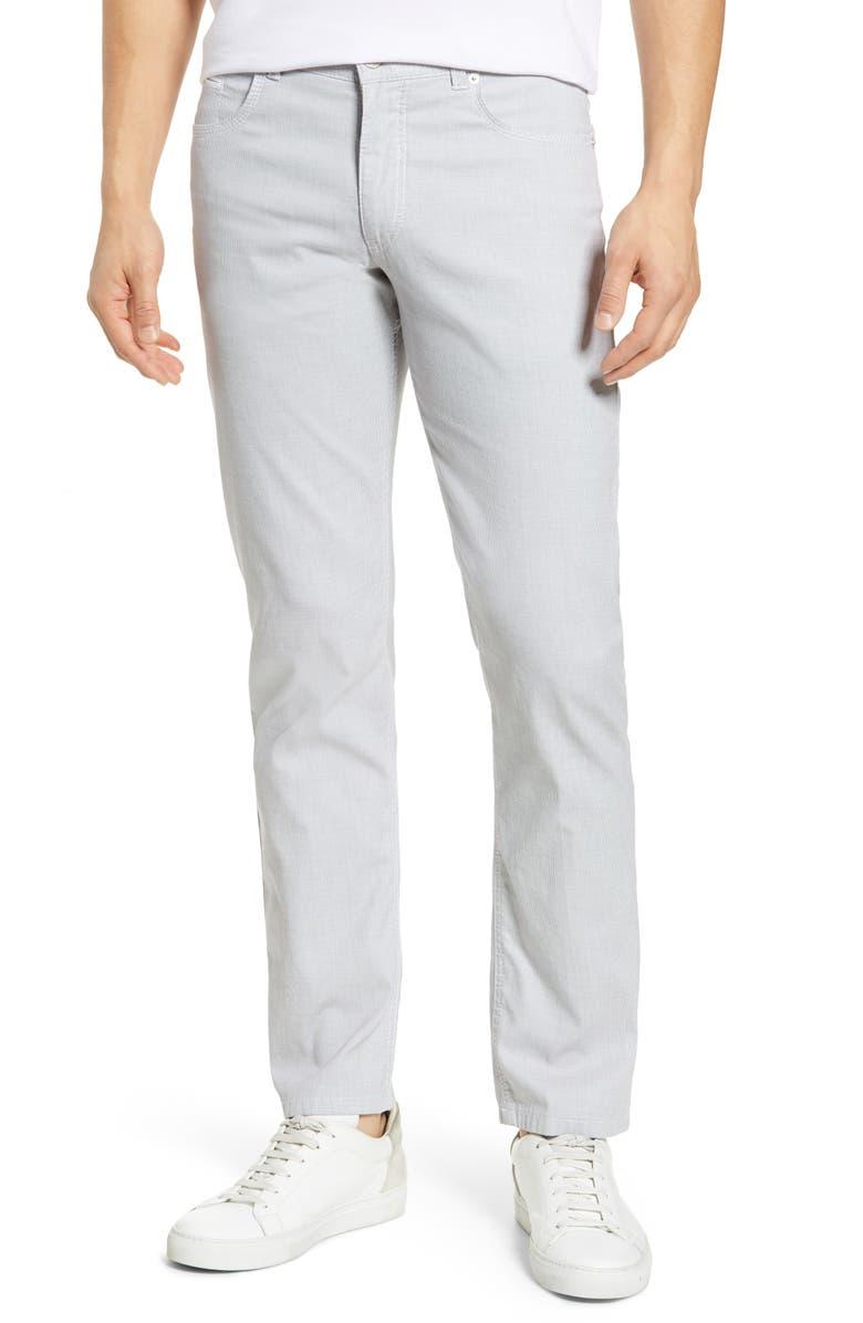 BRAX Sensation 2.0 Straight Leg Stretch Dress Pants, Main, color, WHITE