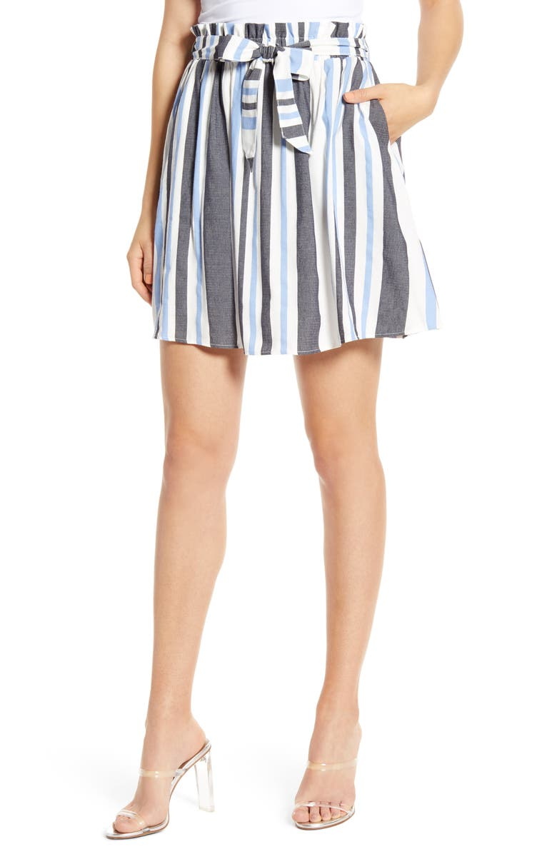 VERO MODA Alice Paperbag Waist Skirt, Main, color, 405