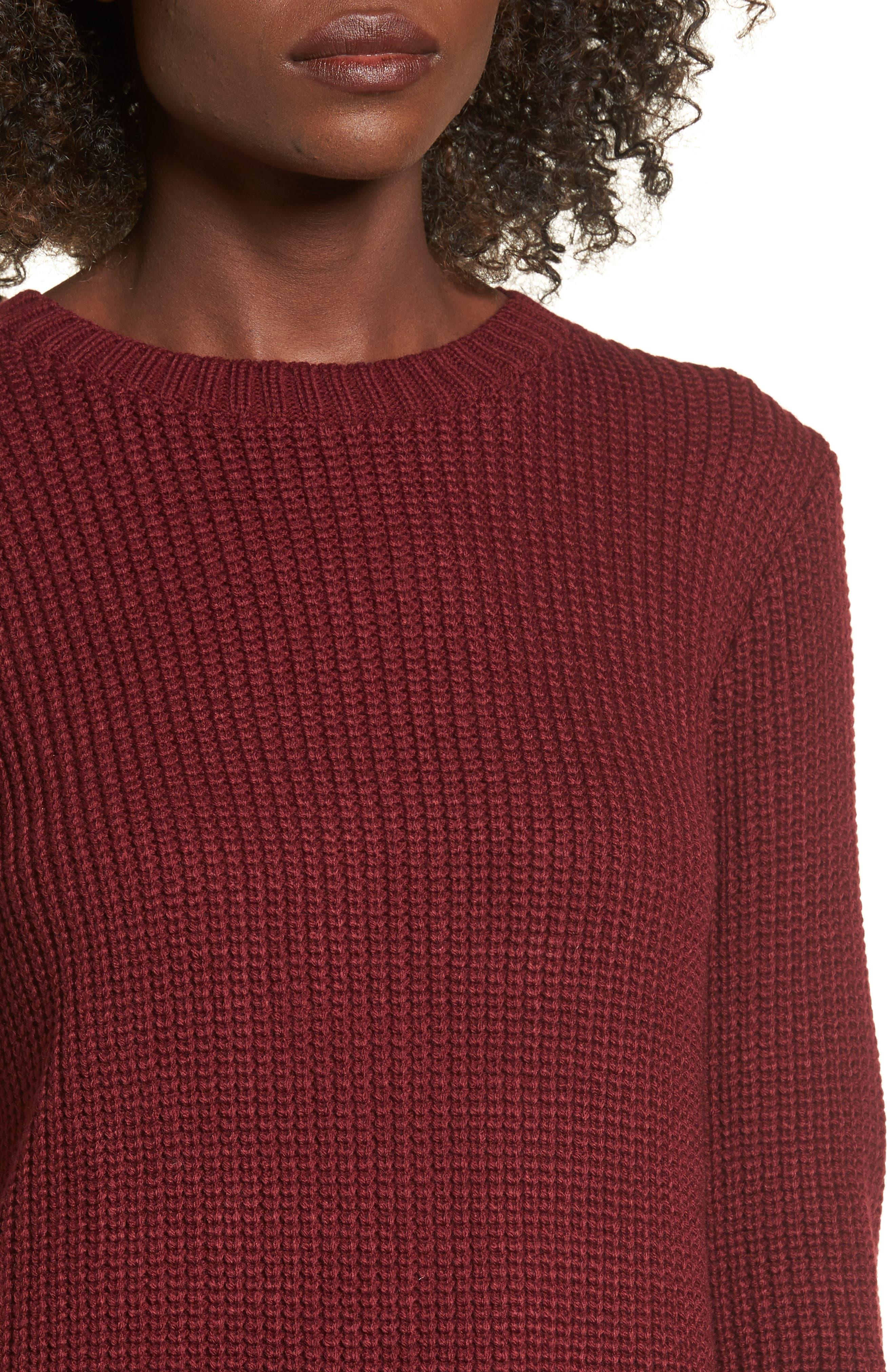 ,                             Flared Sleeve Sweater Dress,                             Alternate thumbnail 16, color,                             930