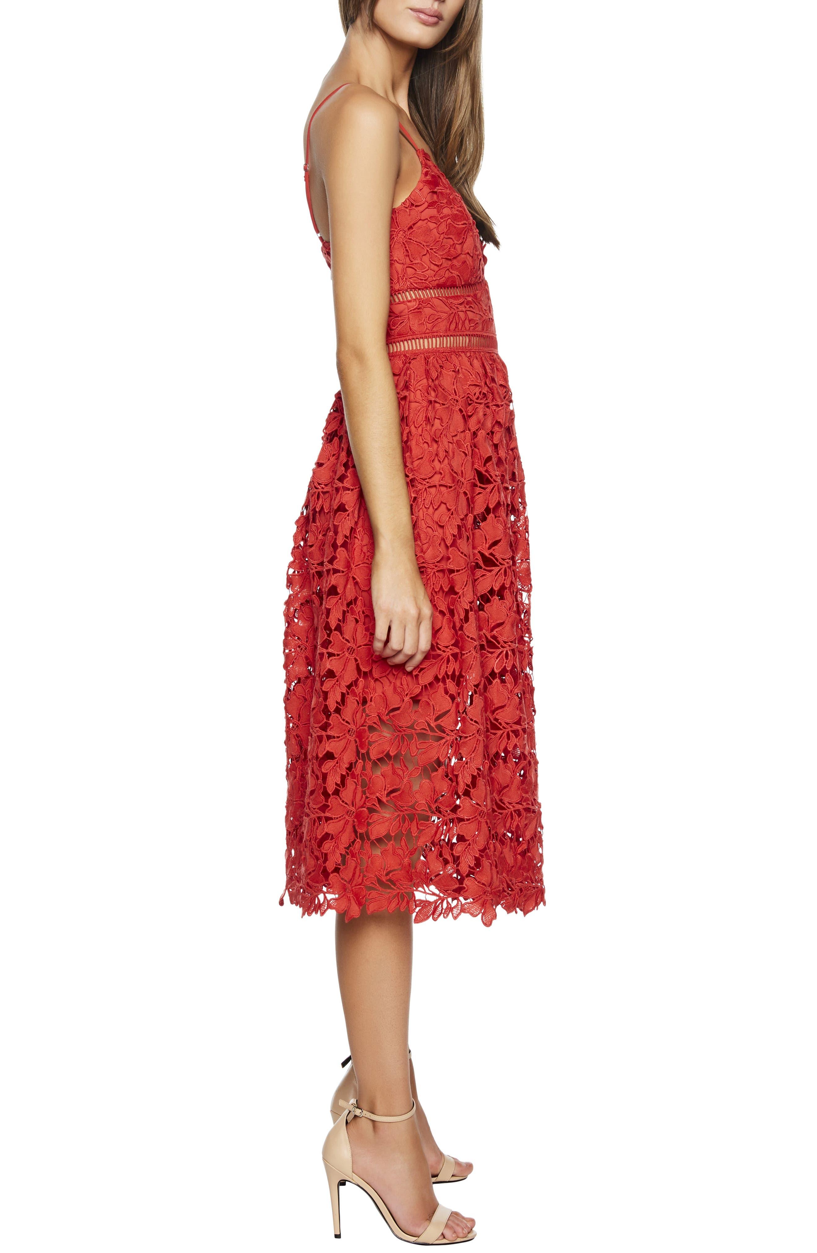 ,                             Sonya Lace Cocktail Dress,                             Alternate thumbnail 8, color,                             610