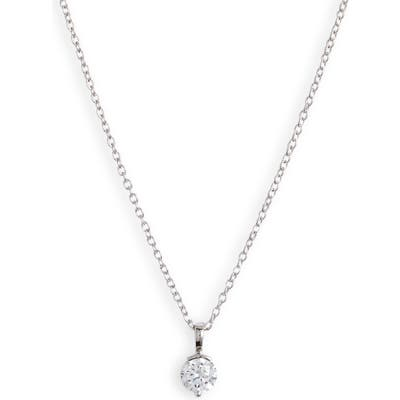Nordstrom Timeless Solitaire Pendant Necklace
