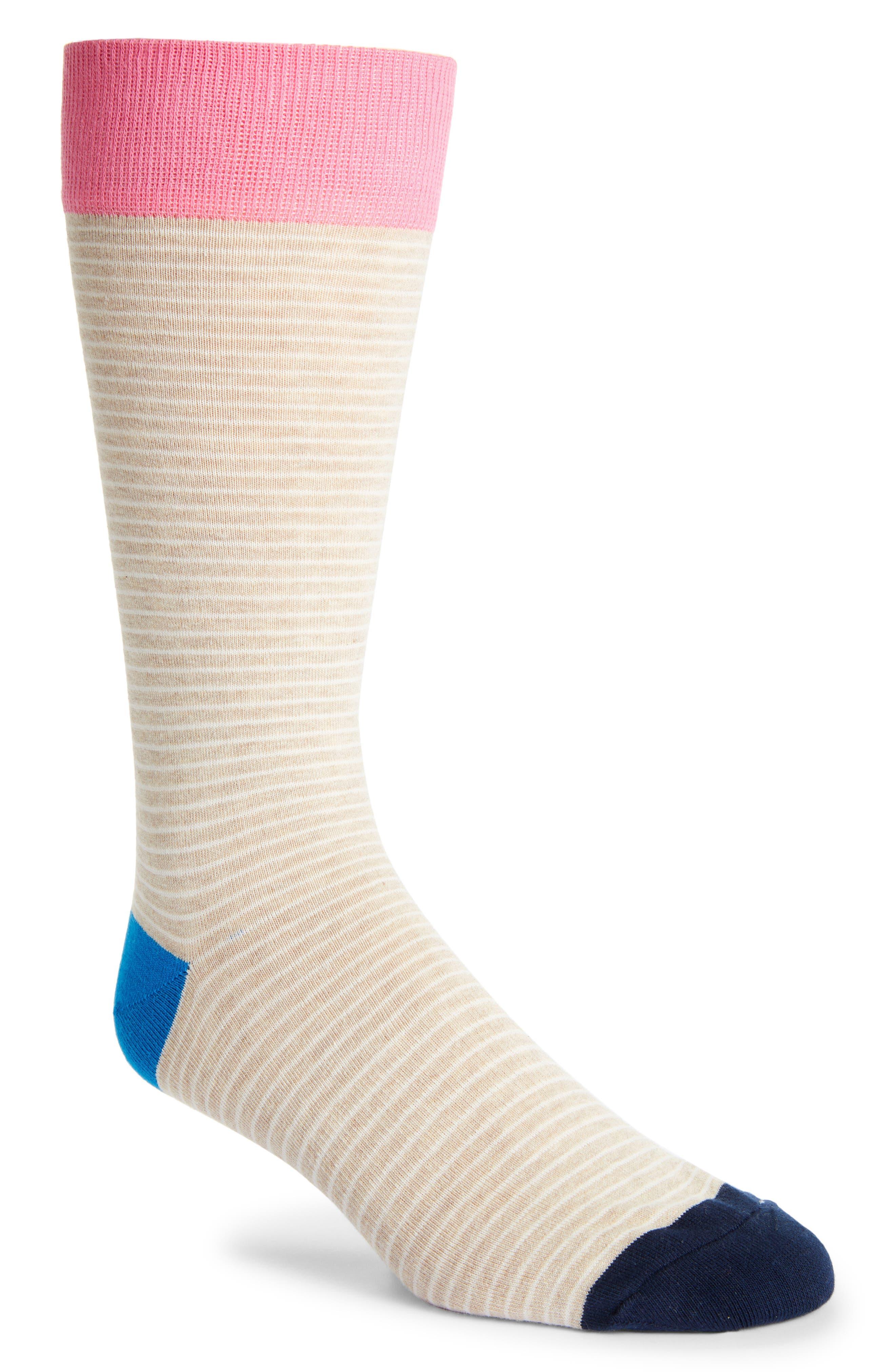 Men's Fun Socks Stripe Socks