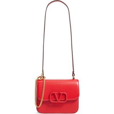 Valentino Garavani Small Vsling Shoulder Bag - Red