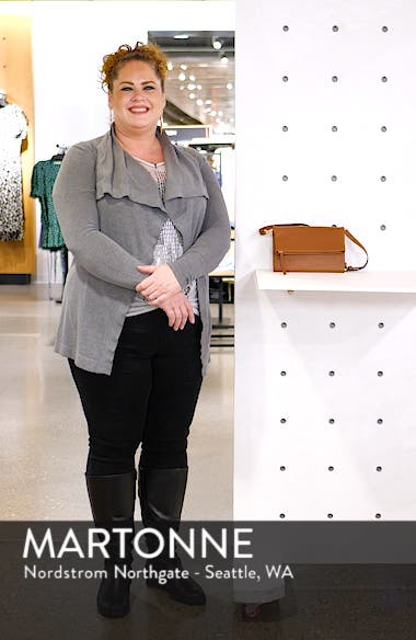 Ellie Leather Crossbody Clutch, sales video thumbnail